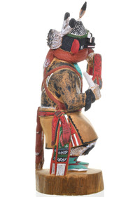 Vintage War God Kachina Doll 31231