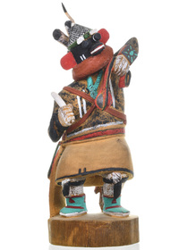 Hand Carved Native American Kachina Doll 31231
