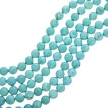 Round Turquoise Magnesite Beads 30853