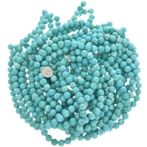 Cripple Creek Blue Turquoise Magnesite Beads 30853