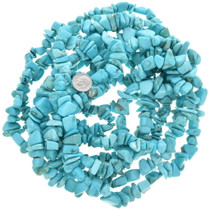 """36"""" Strand Turquoise Magnesite Nugget Beads 30855"""