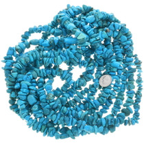 Turquoise Magnesite Nuggets Beads 30856