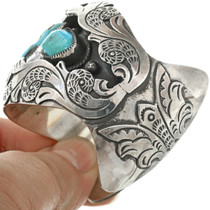 Turquoise Overlaid Silver Bracelet 31269