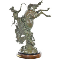 Beauty and the Beast Bronze Statue 31293