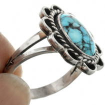 Sterling Silver Western Turquoise Ring 31306