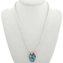 Turquoise Sterling Silver Pendant 31309