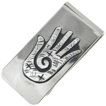 Navajo Silver Money Clip 31313
