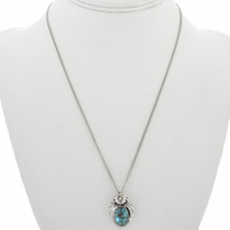 Silver Turquoise Pendant 31316
