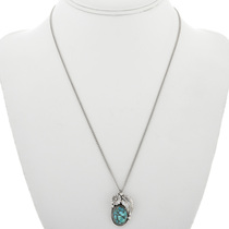 Silver Turquoise Pendant 31320