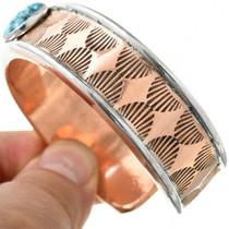 Copper Turquoise Bracelet 31326