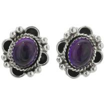 Navajo Amethyst Earrings 31327