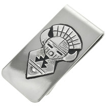 Silver Kachina Money Clip 31330