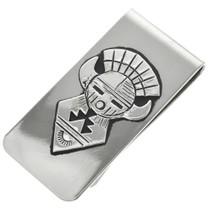 Silver Kachina Money Clip 31330