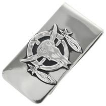 Native American Sterling Silver Money Clip 31331