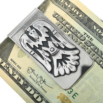 Native American Water Bird Design Money Clip 31333