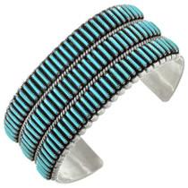 Vintage Natural Turquoise Zuni Bracelet 31343