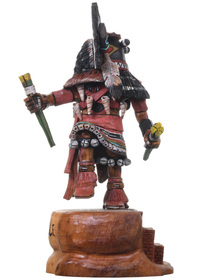 Broadface Hopi Kachina Doll  31349