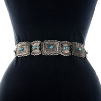 Native American Western Concho Belt 31365