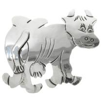 Vintage Navajo Cow Pin 31384