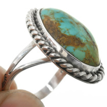 Navajo Sterling Silver Turquoise Ring 31412