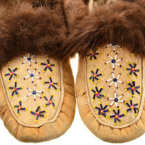 Yukon Indian Beaded Moccasins 31507