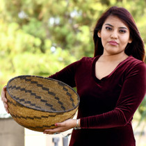 Hand Woven Antique Native American Basket 31426