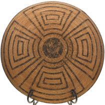 Native American Pima Basket Turn of the Century 31428