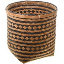 Cherokee Indian River Cane Basket Art 31430