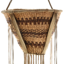 Vintage Apache Indian Burden Basket 31445
