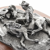 Western Cowboy Sculpture by Don Polland 31452