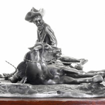 """Getting Acquainted"" Horse Training Pewter Statue 31452"