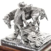 Western Cowboy Sculpture by Don Polland 31454