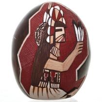 Vintage Pueblo Pottery Egg 31467