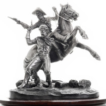 Western Calvary Gunfight Sculpture 31476