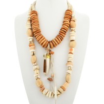 Chunky Two Strand Navajo Necklace 31480