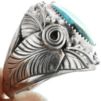 Turquoise Sterling Big Boy Ring 31485