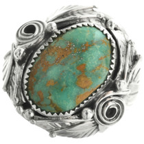 Green Turquoise Mens Ring 31488