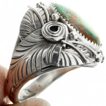 Sterling Silver Western Turquoise Ring 31488