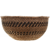 Native American Twined Bowl Basket 31601