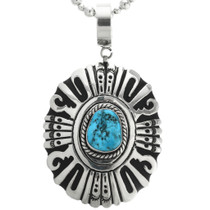 Turquoise Tommy Rose Singer Pendant 31612