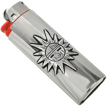 Sunface Kachina Silver Lighter Case 31619