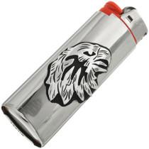 Native American Silver Eagle Lighter Case 31627