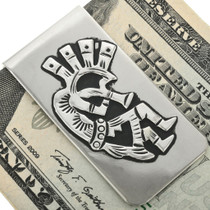 Overlaid Silver Money Clip 31637