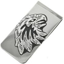 Navajo Silver Eagle Money Clip 31640