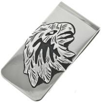 Navajo Silver Eagle Money Clip 31640