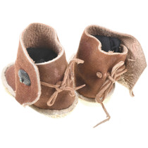 Navajo Childrens Indian Moccasins