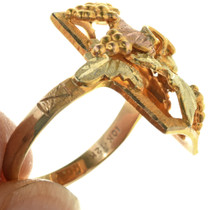 14k Gold Vineyard Ring 31701