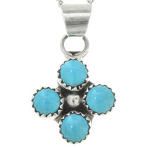Native American Turquoise Pendant 31749