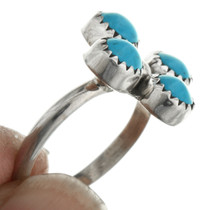 Native American Turquoise Sterling Silver Ring 31750