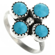 Navajo Turquoise Ring 31750